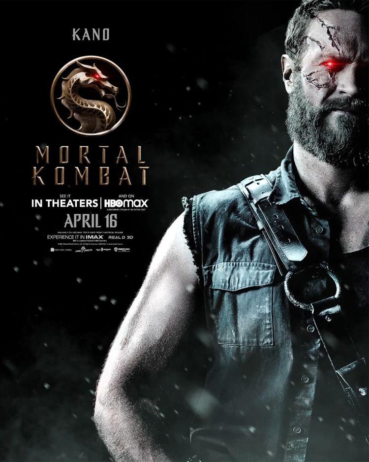 mortal kombat character poster kano