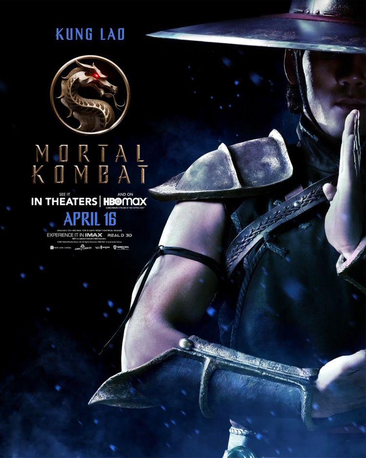 mortal kombat character poster kung lao