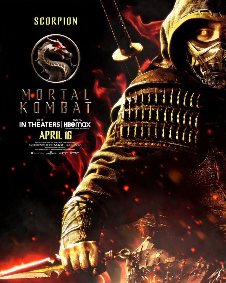 mortal kombat character poster scorpion