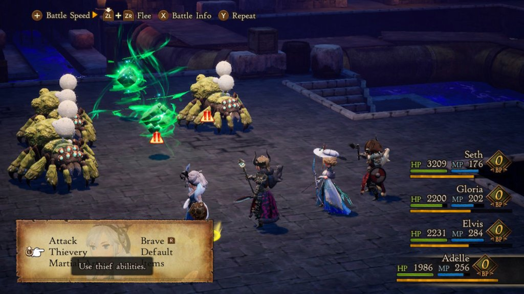 bravely default 2 review a