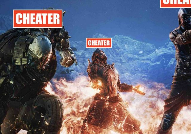 outrider cheaters