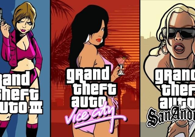 GTA trilogy remastered