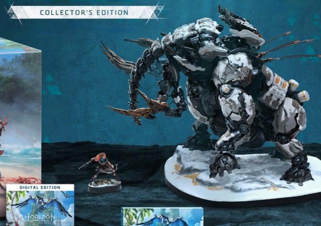 Horizon Forbidden West Collectors Edition