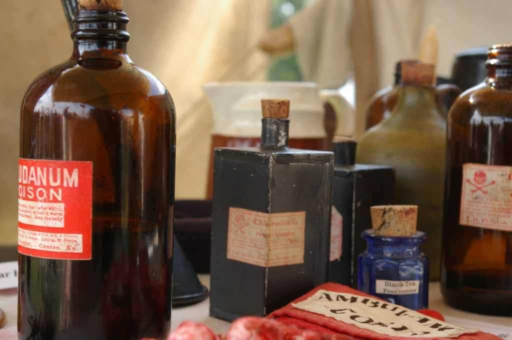 Civil War Medicine Bottles