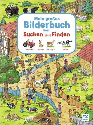 Mein Grosses Bilderbuch vom Suchen und Finden