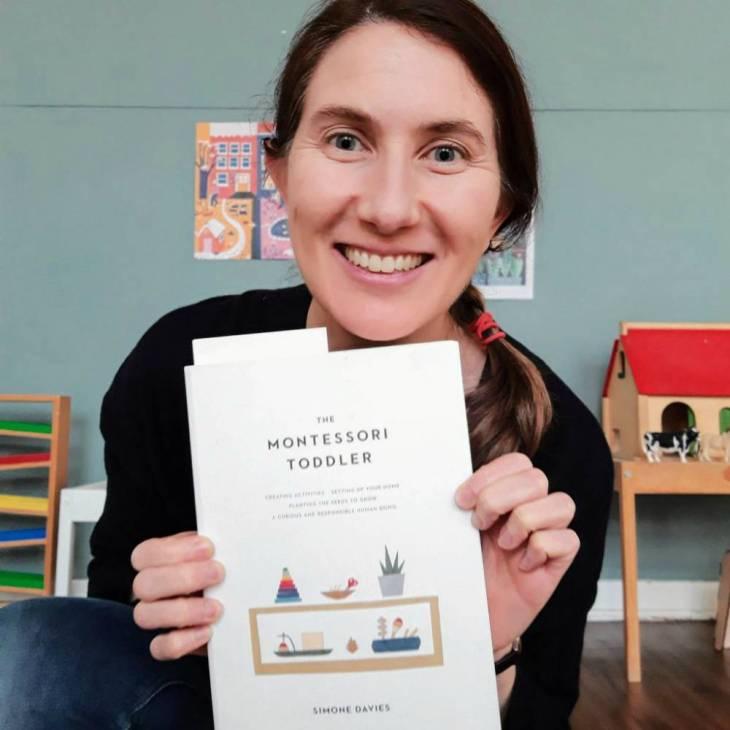 Simone Davies şi copilul Montessori, de la unu la trei ani