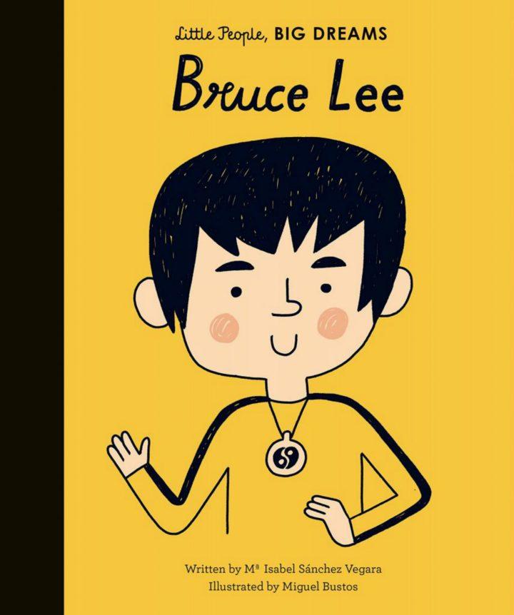 Bruce Lee - coperta cărţii