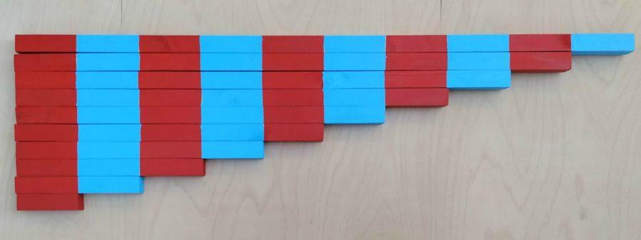 Barele numerice Montessori