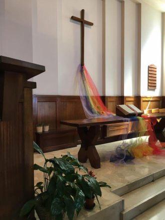 PADOVA, Preghiera ecumenica per le vittime dell'omofobia nella chiesa Metodista (Domenica 21 maggio 2017)
