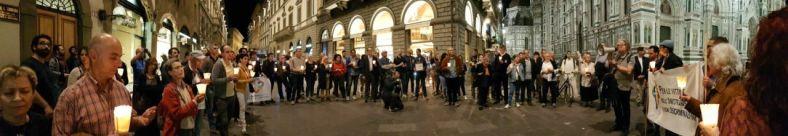 """A Firenze il 17 maggio 2017 Veglia e """"Fiaccolata di luci"""" per il superamento dell'omotrasfobia e ogni discriminazione nella Parrocchia Madonna della Tosse"""