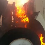 Diesel Engine Running at Full Speed for Eight Minutes Results in a Fireball