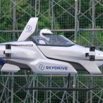 Japan's Flying Car Takes Off for the First Time with a Passenger On Board
