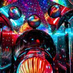 Using lasers and glass to make practical psychedelic scenes with Lewie Wilkinson
