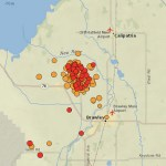 A Swarm of over 600 Earthquakes Hit the Same Spot in California
