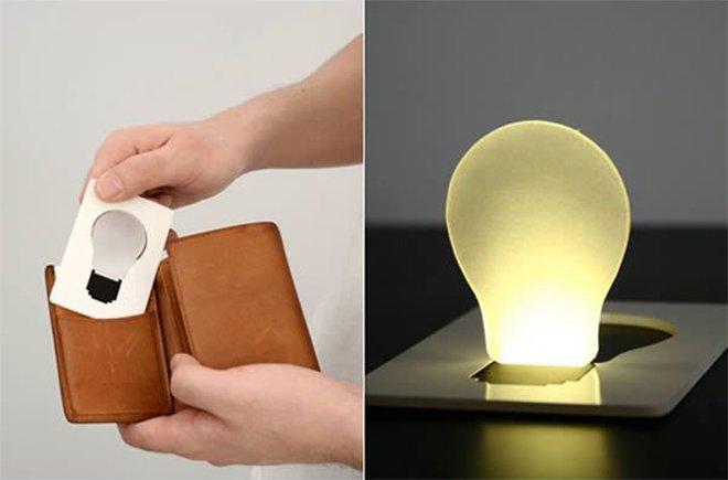 Une vraie lampe de poche