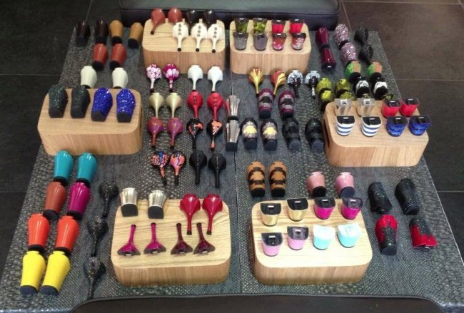 Des chaussures femmes à talon interchangeable