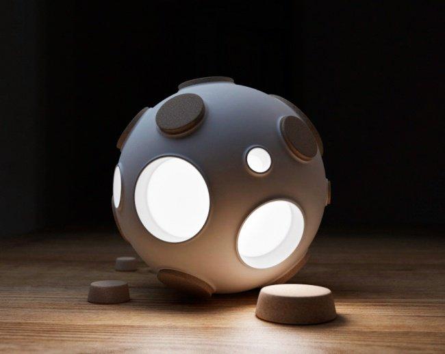 La lampe inspirée de la lune