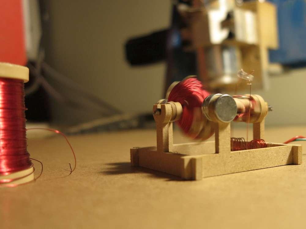 inventorArtist  DIY Electric Motor Assembly