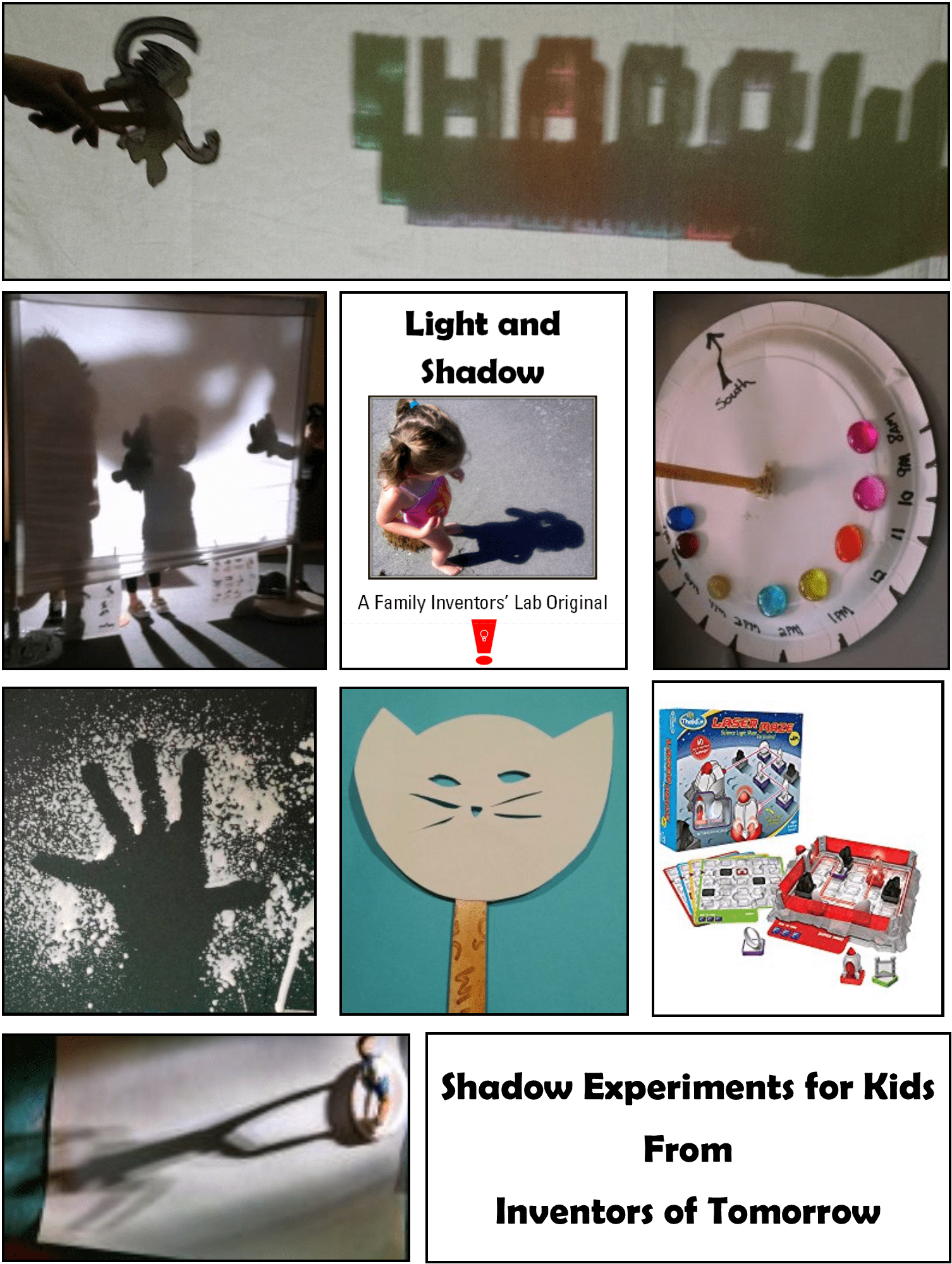 Light And Shadow Experiments For Kids Inventors Of Tomorrow