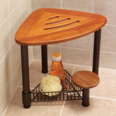 This Shower Seat Stayed In School