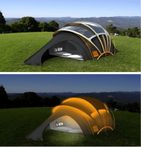 Solar-powered Tent Lets You Light Up Your Night