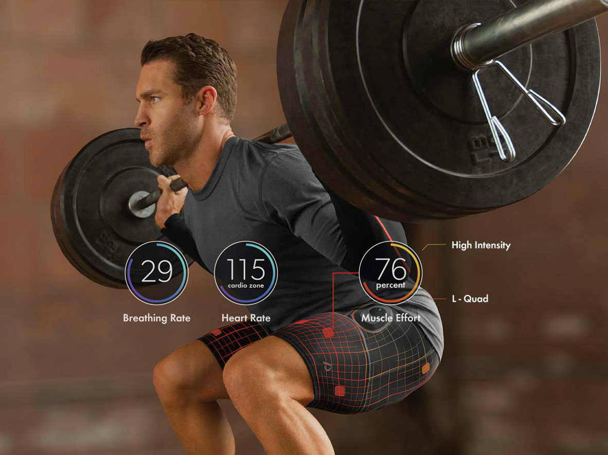 ATHOS Biometric Apparel Reads Your Muscles Effort When Training