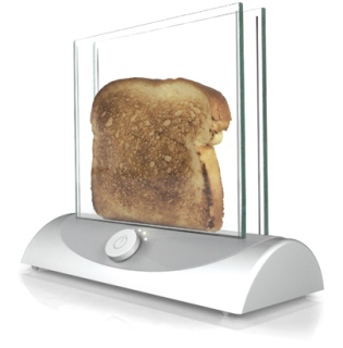 cool kitchen gadgets dog proof trash can 3 worth buying in 2013 what a concept transparent toaster