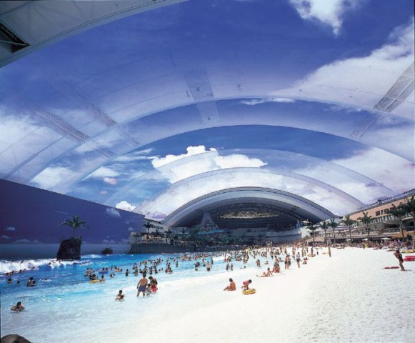 Japan's Indoor Beach