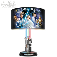 Want Star Wars To Light Up Your Home? Try This Lightsaber Lamp