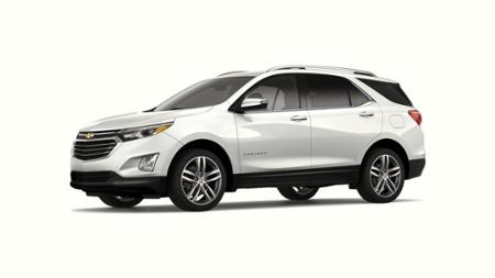2019 Chevrolet equinox additional optional equipment