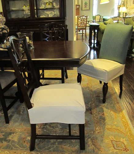 chair cover elegance portable styling vivevita everyday dining ebony black pack 2