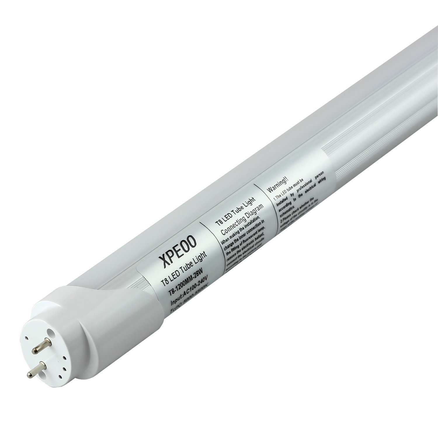 medium resolution of xpeoo t8 1200mm 28w 4ft energy saving daylight white led tube lamps check back soon blinq
