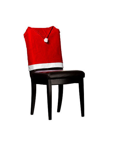 christmas chair covers white how much does a stressless cost imperial home 4 pc 17 x17 santa hat red
