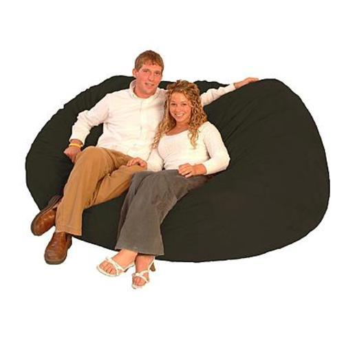 xxl fuf chair single for bedroom bj comfort research 7 long micro suede black 0001078 check back soon blinq