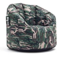 Big Joe Milano Bean Bag Chair Grey Oversized With Ottoman Woodland Camo Check Back Soon Blinq