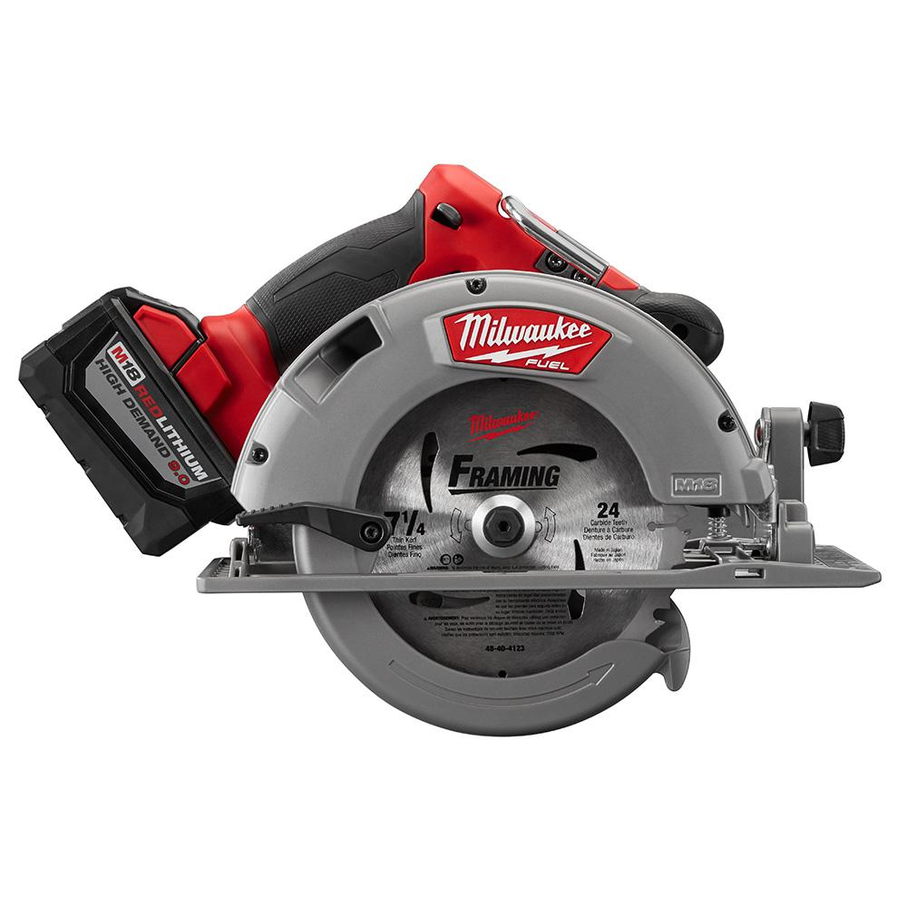 Milwaukee Circular Saw With M18 18-Volt 9.0Ah Starter Kit (48-59-1890PC) - Check Back Soon - BLINQ