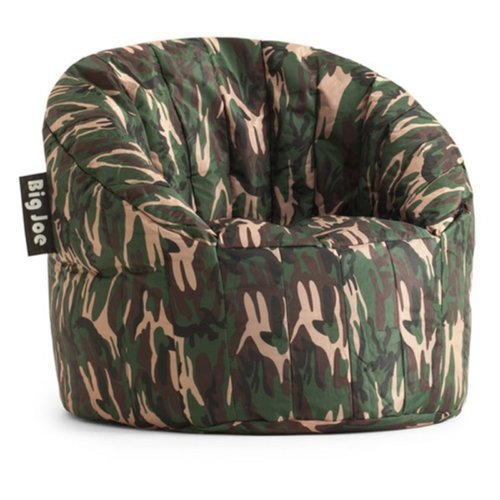 big joe lumin chair multiple colors reclining wingback bean bag green camo 0650188 check back soon blinq
