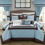 Chic Home Ritz Perrin Comforter Set Blue Size King Cs4111 An Check Back Soon Blinq