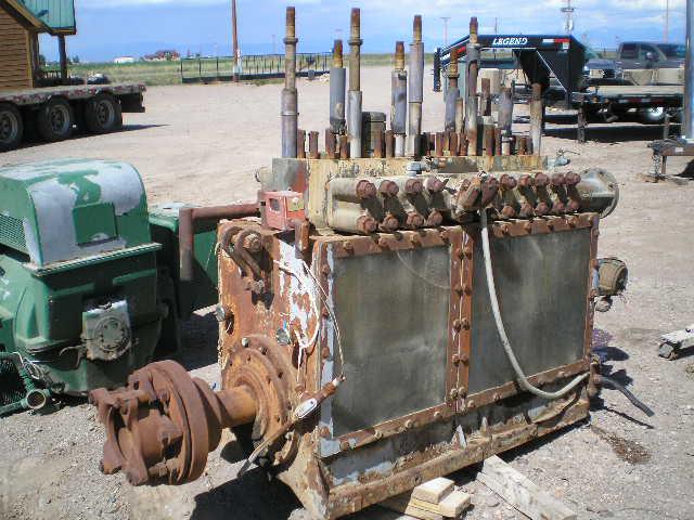 Used Ajax Q-250-S Quintuplex Pump Complete Pump For Sale - Stock No 53185