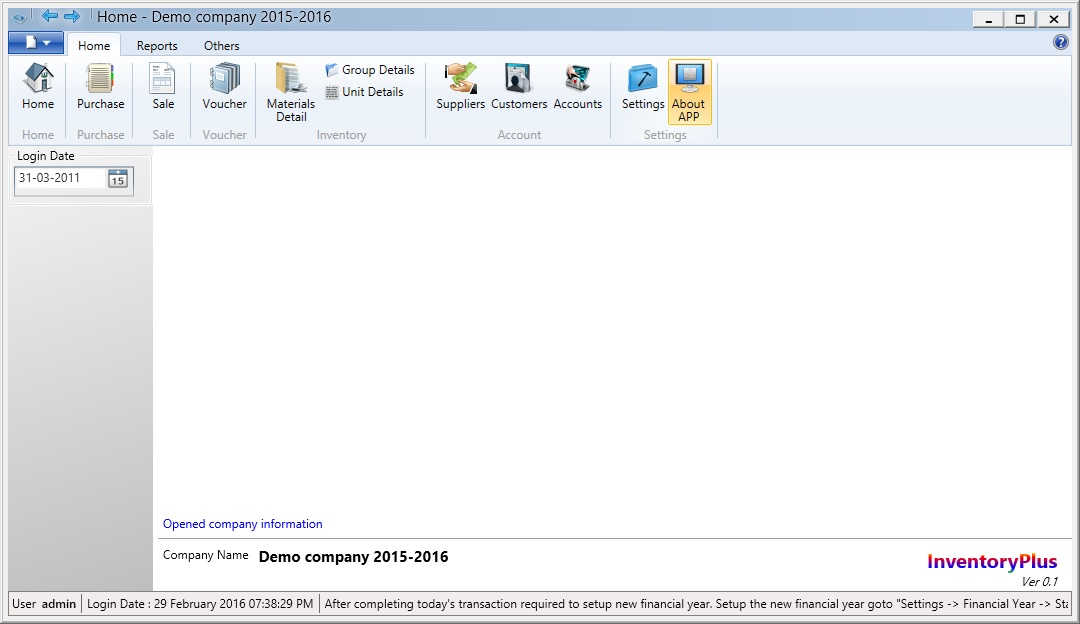 Departmental Store Software free download