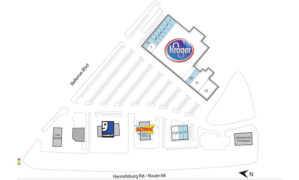 Nicholasville Ky Bellerive Plaza  Retail Space  Inventrust