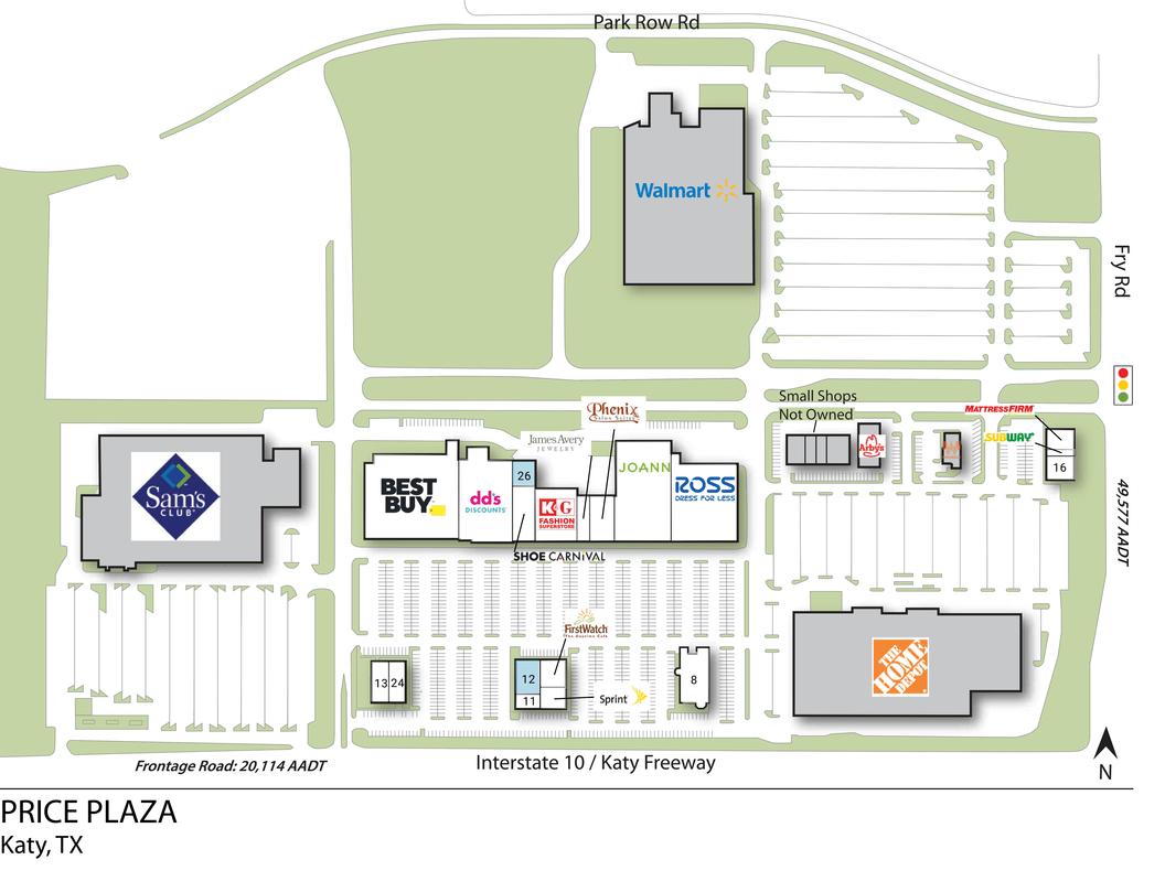 Katy Tx Price Plaza  Retail Space  Inventrust