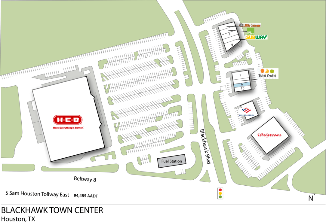 Houston Tx Blackhawk Town Center  Retail Space  Inventrust