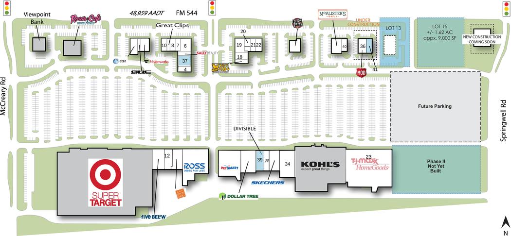 Wylie Tx Woodbridge Crossing  Retail Space  Inventrust