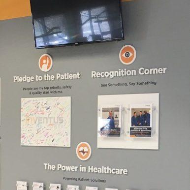 Patient Prority Wall - Woodridge, IL USA