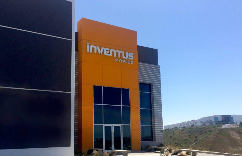 Inventus Power opens new facility at Ave. Guerrero Negro 9985, Parque Industrial Pacifico C.P. 22643 Tijuana, Baja California Mexico