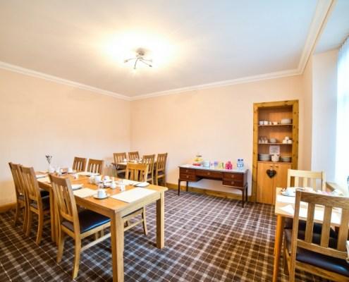 Breakfast Room for full Scottish Breakfast or a lighter bite if you like