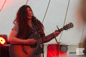 Jemma Tweedie performs at RockNess 2013