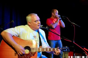 Dougie Burns Al Lewis 1 - Clutha Fundraiser Day 2 - Pictures