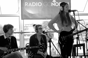 Pale Honey at goNORTH Radio earlier in the day
